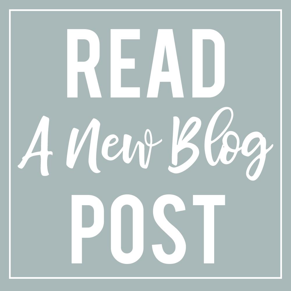 Read a new blog post
