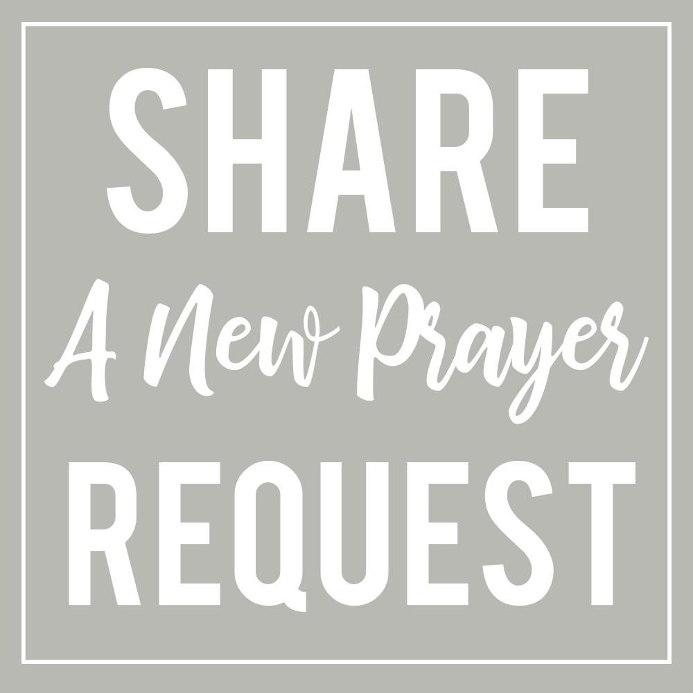 Share a prayer request